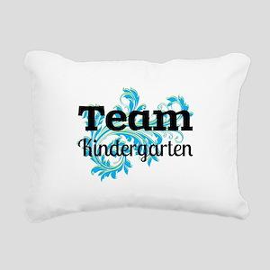 Team Kindergarten Rectangular Canvas Pillow