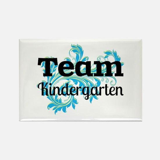 Team Kindergarten Rectangle Magnet