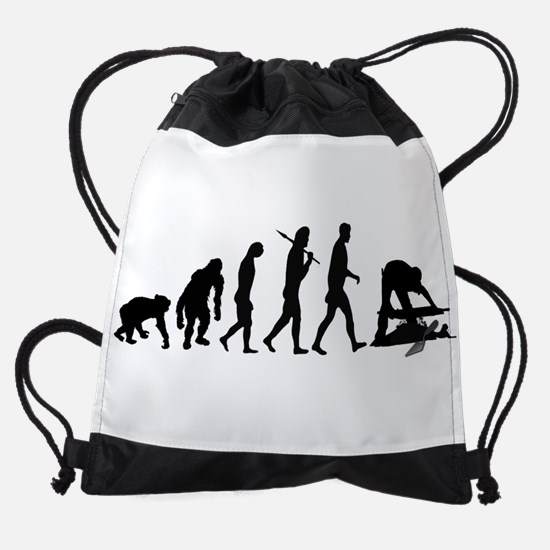 Archaeologist Drawstring Bag