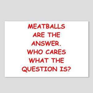 meatball Postcards (Package of 8)