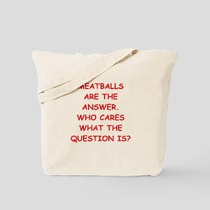 meatball Tote Bag