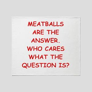 meatball Throw Blanket