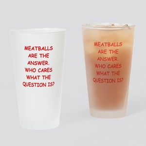 meatball Drinking Glass