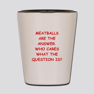 meatball Shot Glass