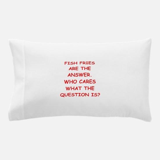 fish fries Pillow Case