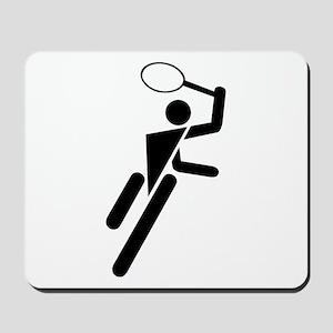Tennis Silhouette Mousepad