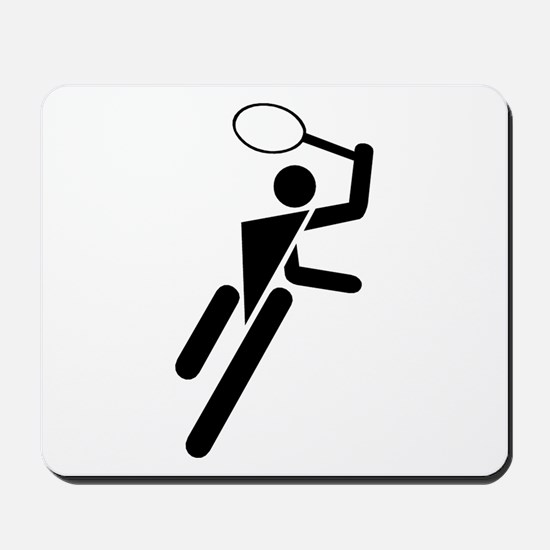 Tennis Silhouette Mousepad