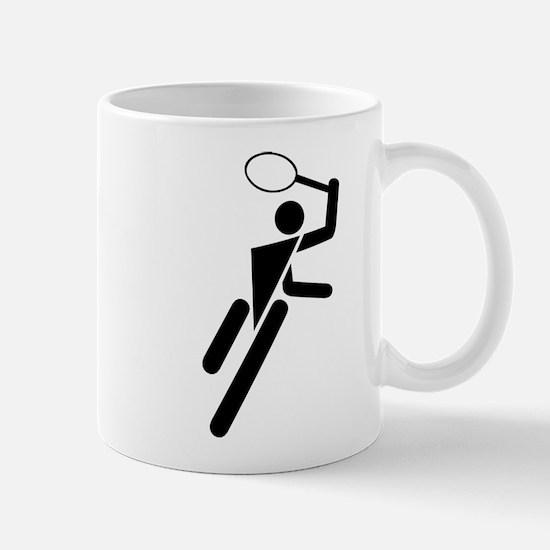 Tennis Silhouette Mug