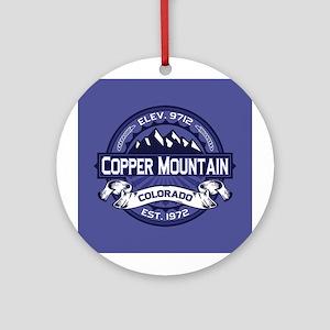 Copper Mountain Midnight Ornament (Round)