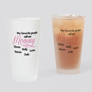Mommy personalized kids Drinking Glass