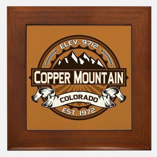 Copper Mountain Copper Framed Tile
