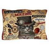 Steampunk Pillow Cases