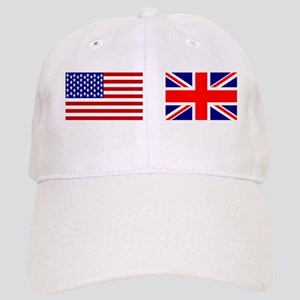 USA / UK Flags Cap