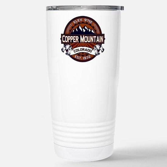 Copper Mountain Vibrant Stainless Steel Travel Mug