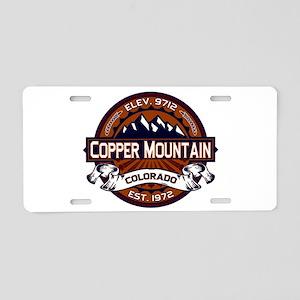 Copper Mountain Vibrant Aluminum License Plate