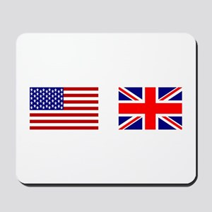 USA & Union Jack Mousepad