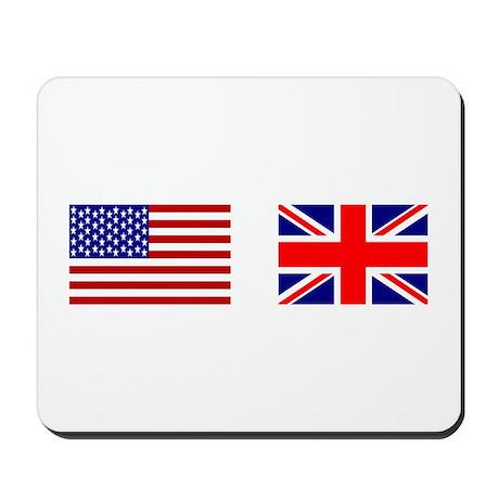 USA & Union Jack Mousepad