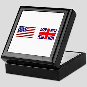 USA & Union Jack Keepsake Box