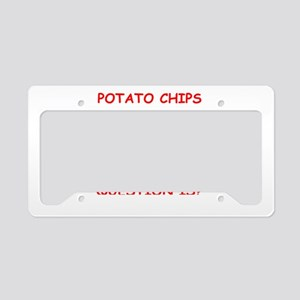 potato License Plate Holder