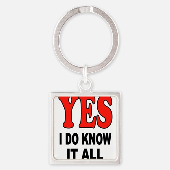 KNOW IT ALL Keychains