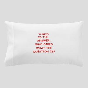 turkey Pillow Case