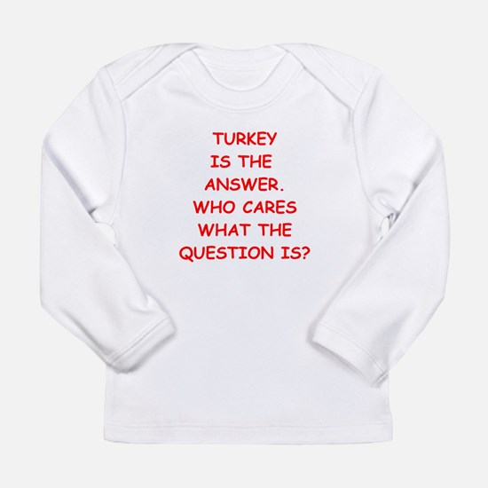 turkey Long Sleeve T-Shirt