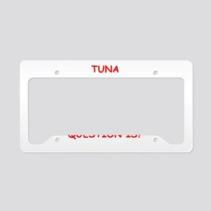 tuna License Plate Holder