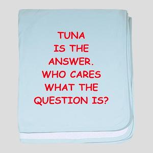 tuna baby blanket