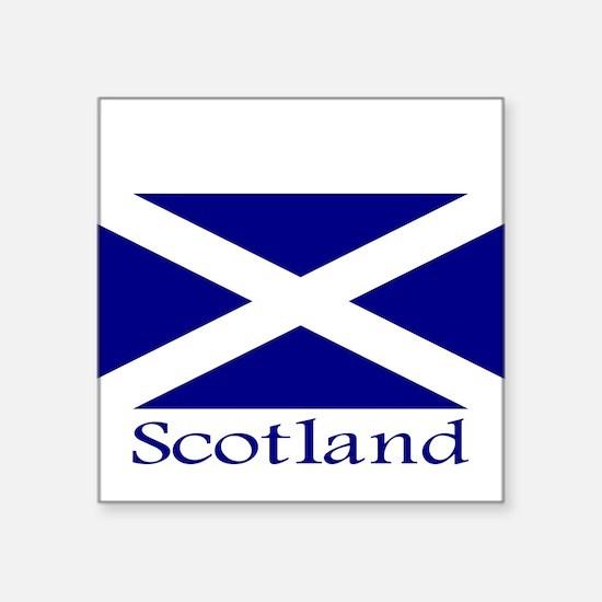 """Scotland"" Rectangle Sticker"