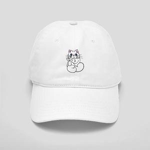 Longhair ASL Kitty Cap