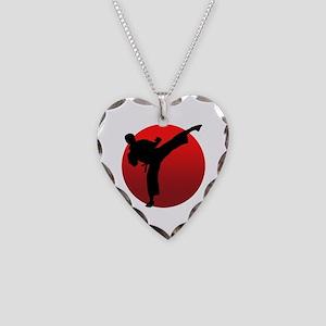 KARATE keri Necklace Heart Charm