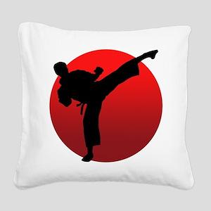 KARATE keri Square Canvas Pillow