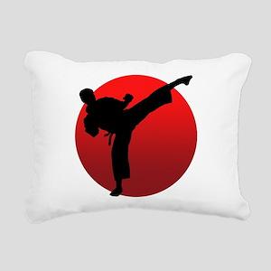 KARATE keri Rectangular Canvas Pillow