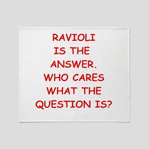 ravioli Throw Blanket
