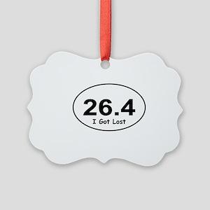 """26.4 """"I Got Lost"""" Picture Ornament"""
