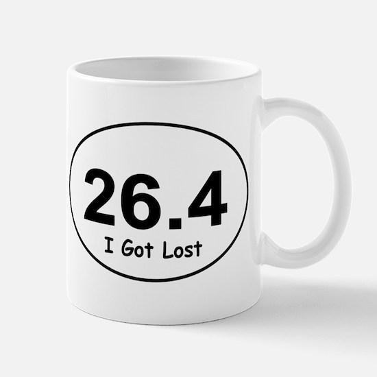 "26.4 ""I Got Lost"" Mug"