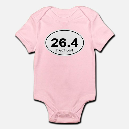 "26.4 ""I Got Lost"" Infant Bodysuit"