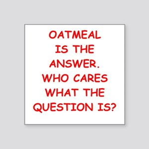 oatmeal Sticker
