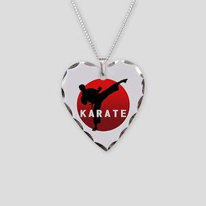 KARATE keri 1 Necklace Heart Charm