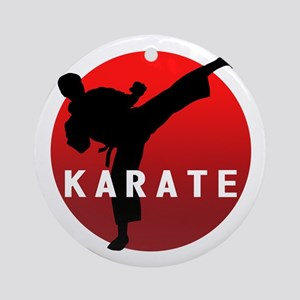 KARATE keri 1 Ornament (Round)