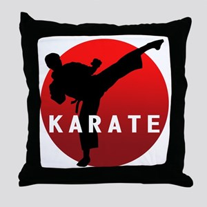 KARATE keri 1 Throw Pillow