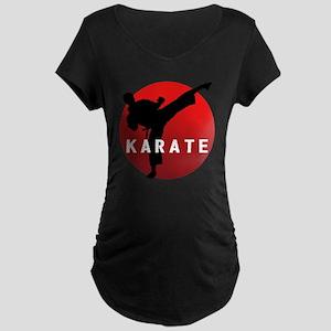 KARATE keri 1 Maternity Dark T-Shirt