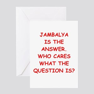 jambalya Greeting Card