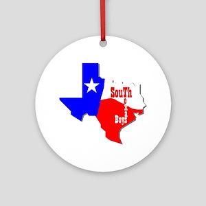 South Texas Boys Ornament (Round)
