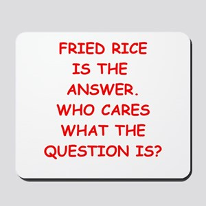 fried,rice Mousepad