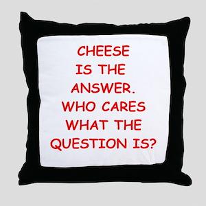 cheese Throw Pillow