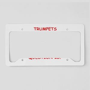 trumpet License Plate Holder