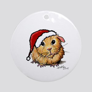 Christmas Cavy Ornament (Round)