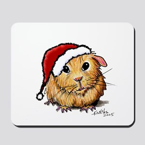 Christmas Cavy Mousepad