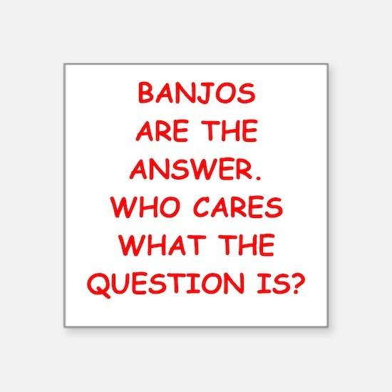 banjo Sticker